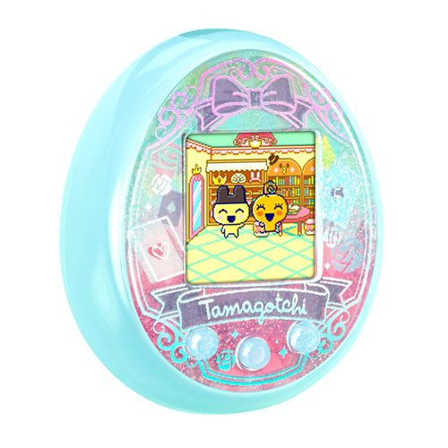 Tamagotchi On Wonder Garden Turquoise Electronic Game