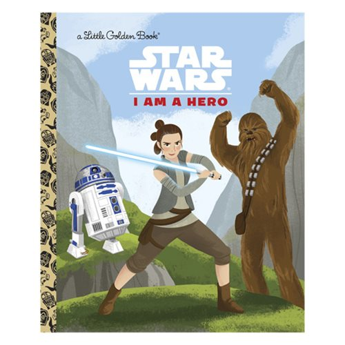 Star Wars I Am a Hero Little Golden Book