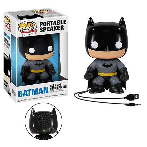 Batman Pop! Audio Vinyl Figure Portable Speaker
