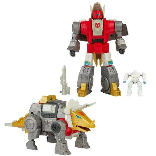Transformers Studio Series 86 Leader Dinobot Slug and Daniel