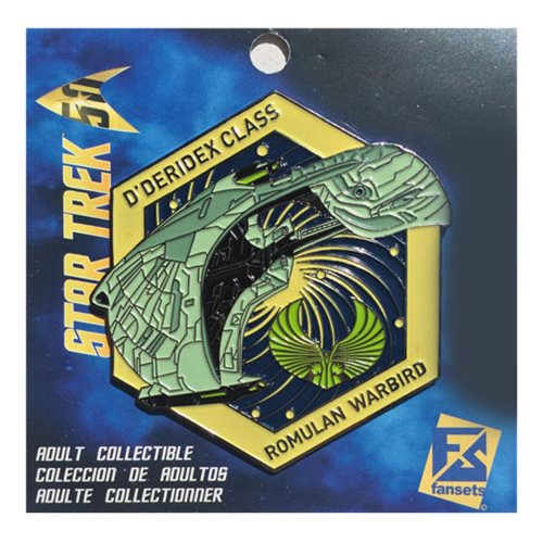 Star Trek Romulan Warbird Pin