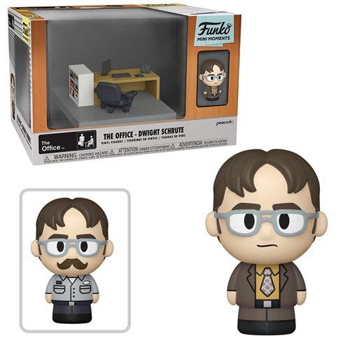 The Office Dwight Mini Moments Mini-Figure Diorama Playset