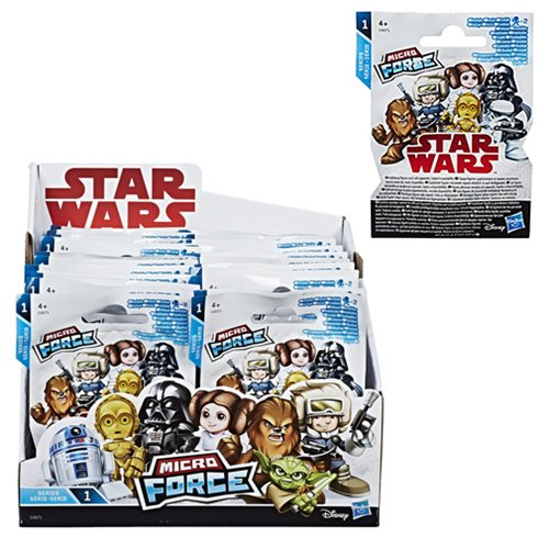 Star Wars Micro Force Mini-Figures Wave 1 6-Pack