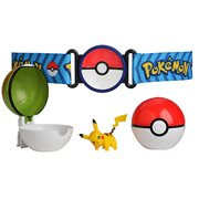 Pokemon Pikachu Clip N Go Poke Ball Belt