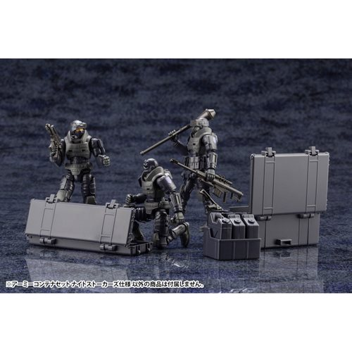 Hexa Gear Army Container Set Night Stalker Ver. 1:24 Scale Model Kit
