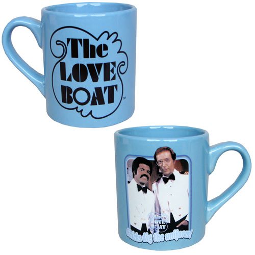 The Love Boat Chicks Dig the Uniform Blue Mug