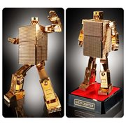 Gold Lightan GX-32R Gold Lightan 24-Karat Gold Plating Bandai Soul Of Chogokin Action Figure