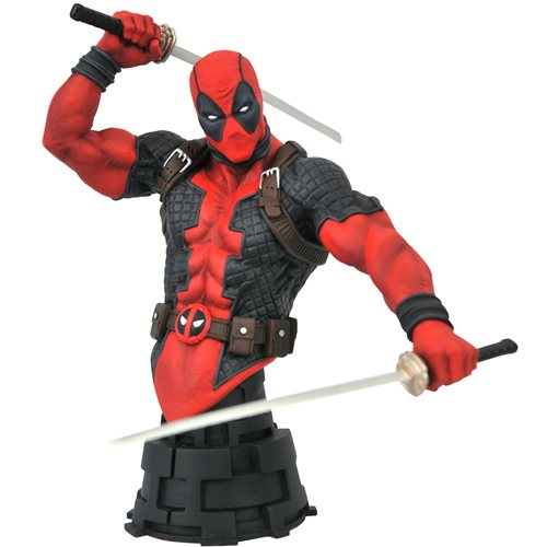 Marvel Comic Deadpool Bust