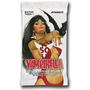 Vampirella 50th Anniversary Ultra Premium Trading Card Single Foil Pack