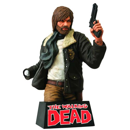 The Walking Dead Rick Grimes Bust Bank