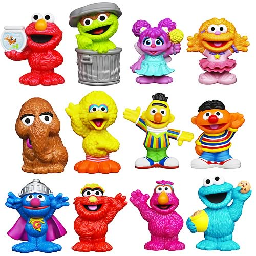 Sesame Street Figure 2-Packs Wave 2