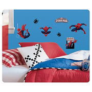 Ultimate Spider-Man Cartoon Peel and Stick Wall Decals