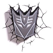 Transformers Decepticon Shield 3D Light