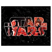 Star Wars: The Last Jedi Logo Typography First Order Canvas Print