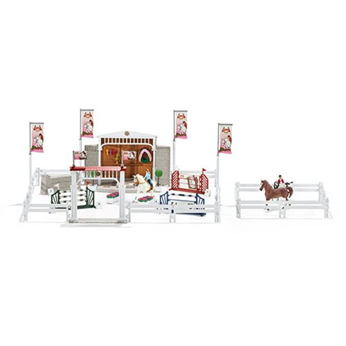 Horse Club Big horse Show with Horses Playset