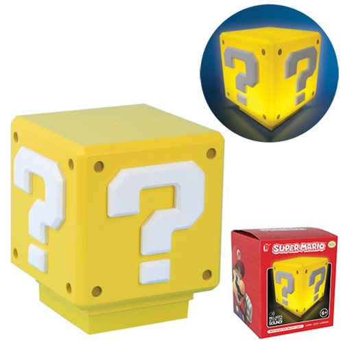 Super Mario Bros. Mini Question Block Light