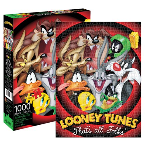Looney Tunes Group 1,000-Piece Puzzle
