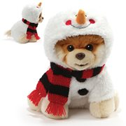 Boo the Dog Boo Snowman 9-Inch Plush