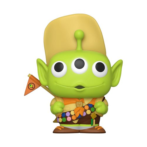 Pixar 25th Anniversary Alien Remix Russel Pop! Vinyl Figure