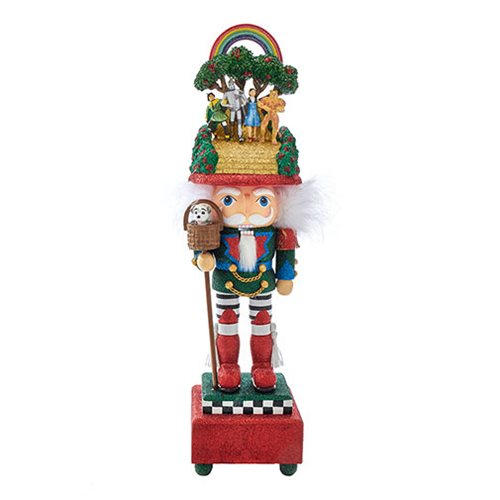 Wizard of Oz Over the Rainbow Musical 20-Inch Nutcracker