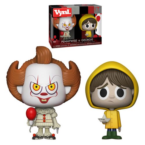 It Pennywise and Georgie Vynl. Figure 2-Pack