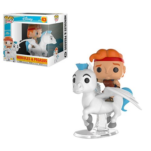 Hercules and Pegasus Pop! Ridez Vinyl Figure
