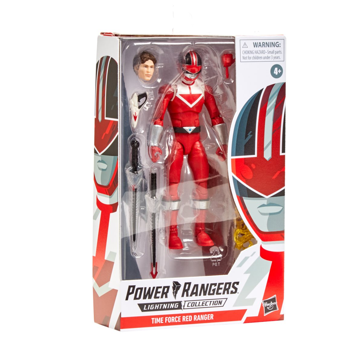 FACTORY SEALED * POWER RANGERS LA FOUDRE COLLECTION Time Force Red Ranger 6 pouces