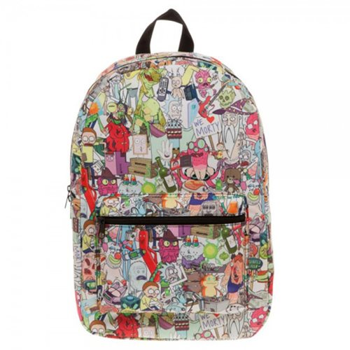 Rick and Morty Sublimated Backpack