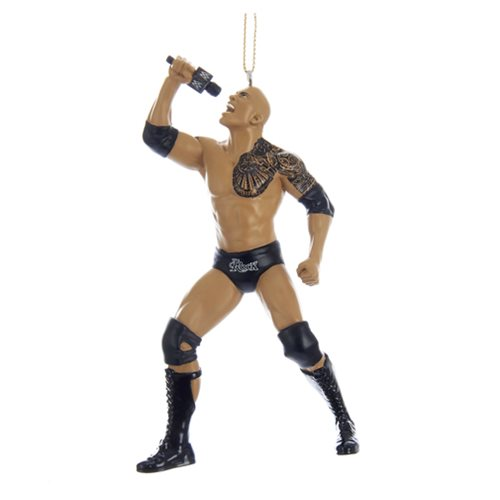 WWE The Rock 5-Inch Resin Figural Ornament