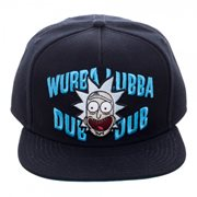 Rick and Morty Wubba Black Snapback Hat