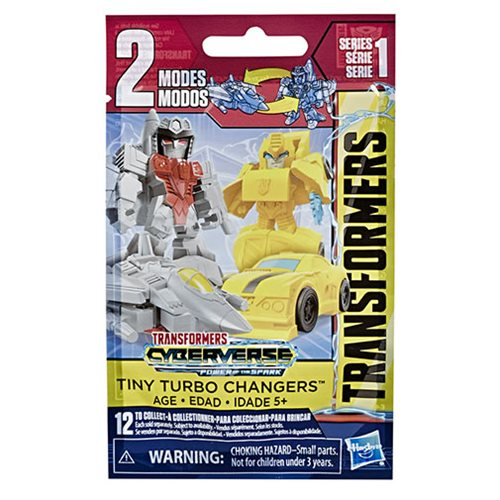 Transformers Cyberverse Tiny Turbo Changers Wave 1 Case