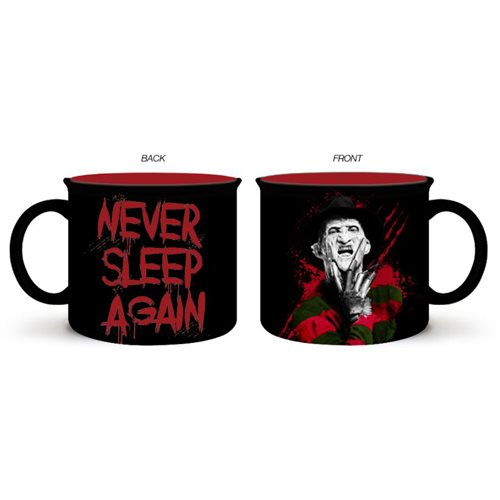 Nightmare on Elm Street Never Sleep Again 20 oz. Ceramic Camper Mug