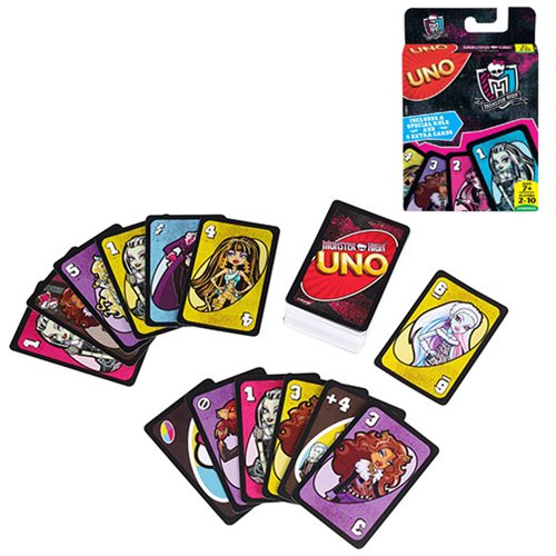 Monster High UNO Game