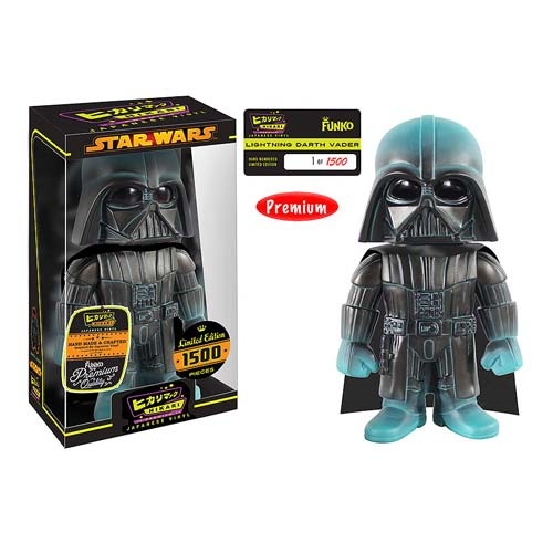 Star Wars Darth Vader Lightning Premium Hikari Sofubi Vinyl Figure