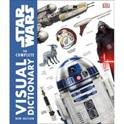 Star Wars The Complete Visual Dictionary New Edition Hardcover Book