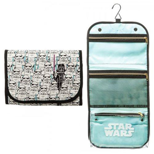 Star Wars Stormtrooper And Darth Vader Cosmetic Bag