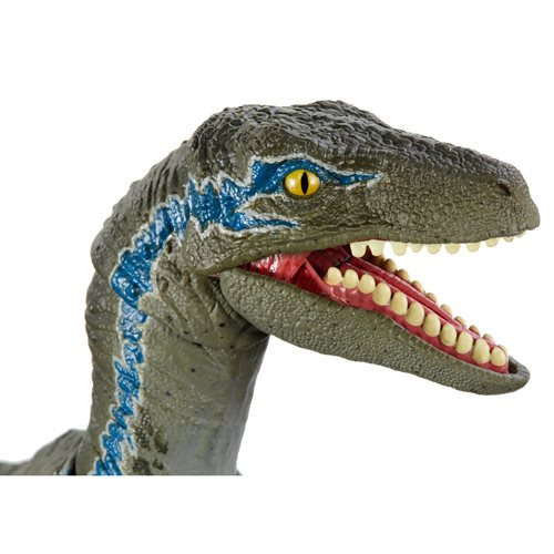 Jurassic World Velociraptor Blue 6-Inch Scale Amber Collection Action Figure
