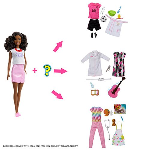 Barbie Surprise Careers Doll and Accessories 2