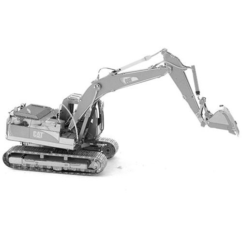 CAT Excavator Metal Earth Model Kit