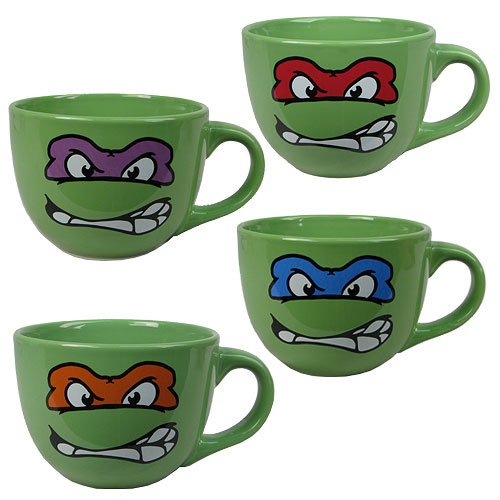 Teenage Mutant Ninja Turtles Soup Mug Set