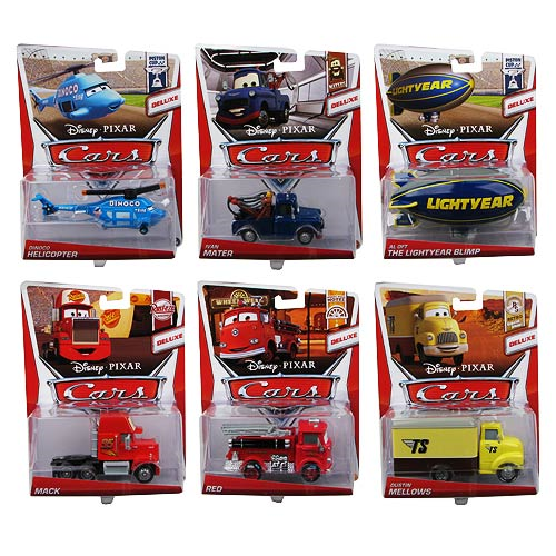 Cars Oversized Vehicles Wave 3 Case