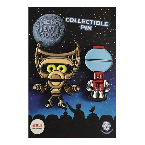 Mystery Science Theater 3000 Cute Tom and Crow Soft Enamel Pin Set