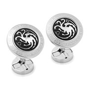 Game of Thrones Targaryen Filigree Stainless Steel Cufflinks