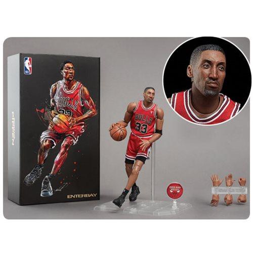 3d18f2b512f NBA Collection Scottie Pippen Motion Masterpiece 1 9 Scale Action Figure