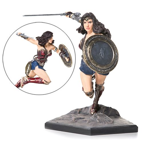 Justice League Wonder Woman Art 1:10 Scale Statue