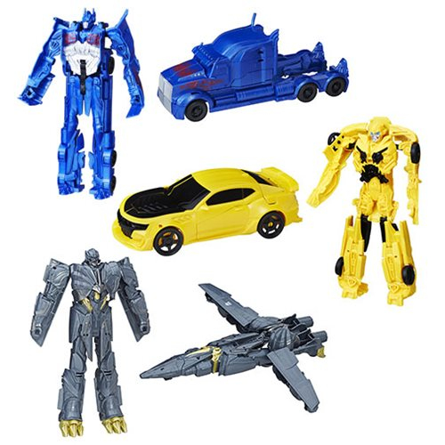 Transformers The Last Knight Titan Changers Wave 1 Set