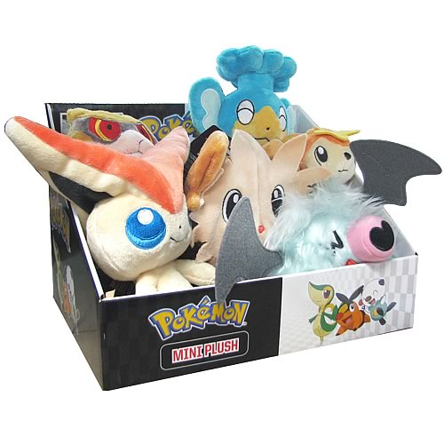 Pokemon Black and White Mini-Plush Series 4 Case