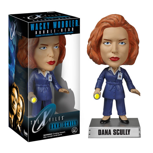 X-Files Dana Scully Bobble Head