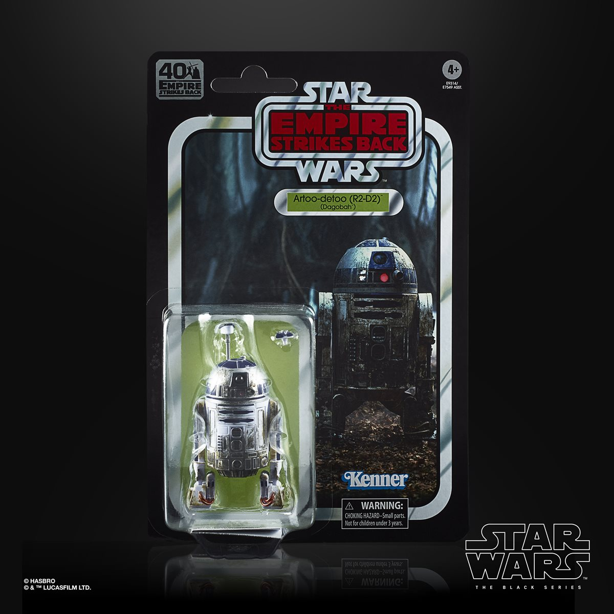 Star Wars The Black Series Empire Strikes Back 40th Anniversary 6 Inch R2 D2 Action Figure Entertainment Earth