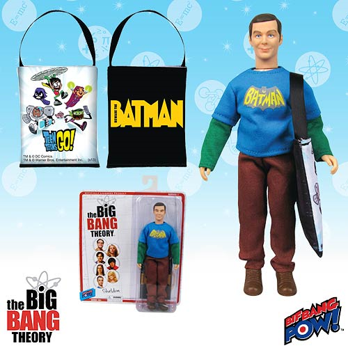 The Big Bang Theory Sheldon with Vintage Batman T-Shirt 8-Inch Action Figure - Convention Exclusive